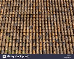 terracotta roof tiles typical roof covered in s