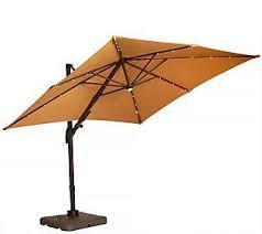 Patio Umbrella Offset Tilt by Atleisure Multi Tilt 8 5 U0027 Solar Offset Patio Umbrella Offset