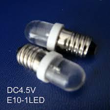 high quality dc4 5v led e10 warning light led e10 bulb e10 led