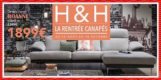 magasin canapes h h la rentrée des canapés infiny home