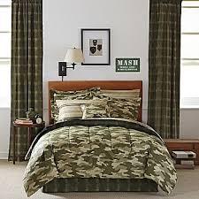 amazon com teen boy green brown camouflage twin comforter set