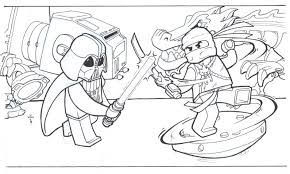 Download Coloring Pages Lego Ninjago Free Printable For Kids Images