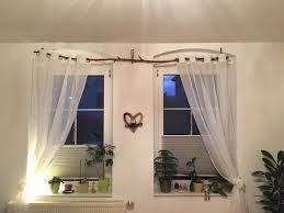 ast zweig dek dekoration landhaus vorhang rustikal