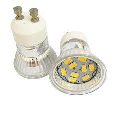 2018 5x 4 watt gu10 led spotlight small glass cup l smd5730