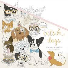 Kaisercraft Kaisercolour Cats And Dogs Coloring Book