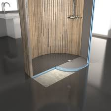 bathroom wedi shower system durock tile backer wedi board