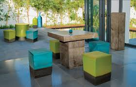 Bob Mackie Furniture Dining Room by Crazy Cool Concrete Patio Furniture