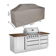 schutzhülle outdoor küchen 245 x 85 h 125 115 cm