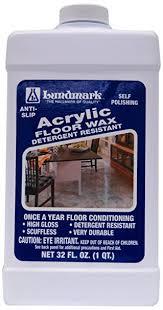 Hardwood Floor Polisher Machine by Amazon Com Lundmark Wax Acrylic Floor Wax 32 Ounce Floor