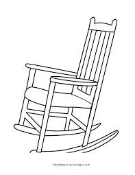 dessiner une chaise coloriage objets de la maison meubles à colorier allofamille
