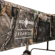 large cam o bunk portable bunk bed with organizers in realtree