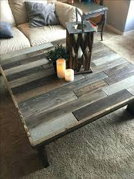 Rustic Style Coffee Table Cfee French