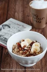 frühstückssorgen und urlaubsplänen bananen dattel