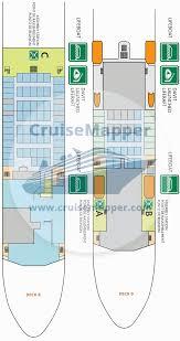 Norwegian Jewel Deck Plan 5 by Baie De Seine Ferry Deck Plan Cruisemapper