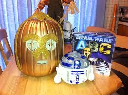 Star Wars Pumpkin Carving Templates Easy by Literary Character Pumpkin C3po R2d2 Star Wars Pinterest
