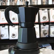 Cilio Electric Moka Coffee Maker BlackCoffee MakerCilio Coffea