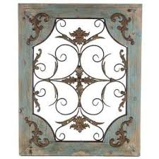Get Rustic Turquoise Wood Metal Wall Decor Online Or Find Other Art Products From