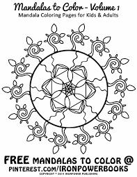 FREE Printable Mandala Coloring Page Ironpowerbooks