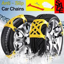 Car Tire Chains Anti-slip Snow Chains Ice Chains Cable Traction Mud ...