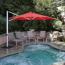 Large Cantilever Patio Umbrella by Garden Garden Treasures Patio Umbrella Inside Breathtaking