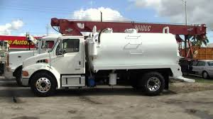 100 Septic Truck 2005 Sterling Vac 2500 Gallon YouTube