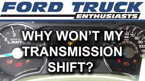 100 Ford Truck Transmissions F150 F250 Why Wont My Transmission Shift YouTube