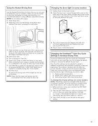 page 11 of kenmore clothes dryer c6801 user guide manualsonline