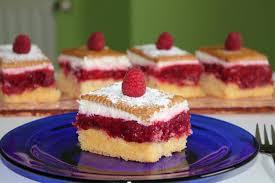 himbeer kekskuchen