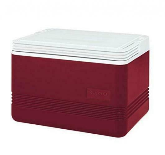 Igloo Legend Cooler - 12 Can Capacity, Red