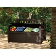 150 gallon patio storage bench deck box