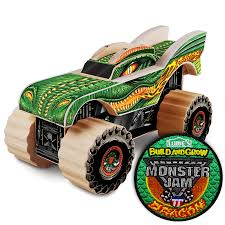 100 Kit Trucks To Build And Grow Kids Beginner And Grow Monster Jam Dragon