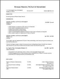 Free Resumes Builder Asafonggecco In Resume Template Download