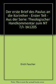 Der Erste Brief An Die Korinther EKK 73 Kapitel 11171440