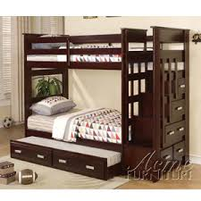 stairs bunk or loft bed s allentown twin over twin bunk bed 10170