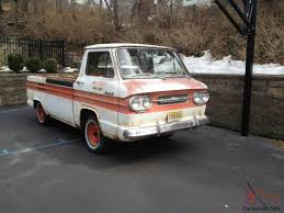100 Chevy Corvair Truck 1962 Chevrolet 95 Rampside Barn Find Patina VERY