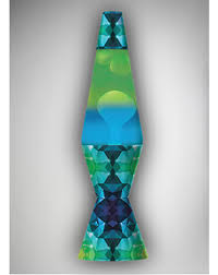 27 Inch Lava Lamp by The Colormax Geomtric With Green Lava 32oz Lava Lamp Is The
