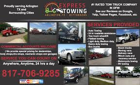 Welcome To Express Towing Arlington. Best Towing Company In ... Dennys Towing Service Tow Truck Near You Hays County Outrageous Overcharging On The Rise For Crashed Trucks Ata 4 Wheel Burleson Fort Worth Express Arlingtontexas24 Hr Tow Truck And Wrecker Service Commercial Rentals Dallas Arlington Mckinney Wikipedia Insurance Virginia Beach Pathway Jm Home Facebook In Tx Services 24 Hour Tarrant Haltom City Tx Aa