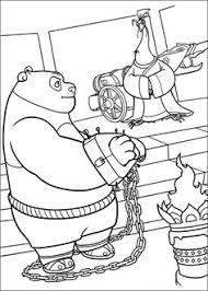 Kung Fu Panda Tegninger Til Farvelaegning For Born 10 Coloring Pages