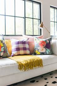 Decorative Outdoor Lumbar Pillows by Decorative Lumbar Pillows Nate Berkus Blue Green Grey And Gold