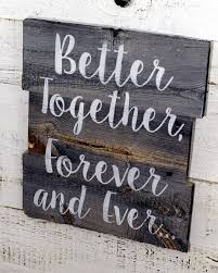 Rustic Reclaimed Barn Wood Sign Inspirational Quote Custom Saying