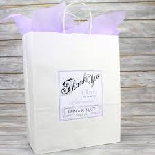 Large Personalised Wedding Favour Gift Bag