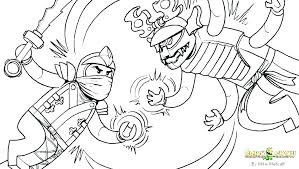 Ninjago Golden Dragon Coloring Pages Ninja Color Lego