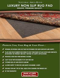 luxury non slip felt rug pad rug pads area rugs
