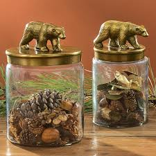 Savannah Turquoise Kitchen Canister Set by Cabin Kitchen Decor For Your Home At Black Forest Decor