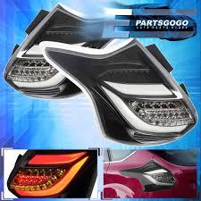 2012 2014 ford focus st 5door hatchback black housing clear lens