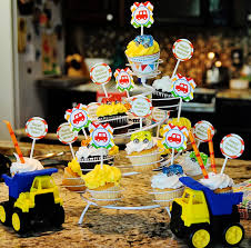 Trucks And Trains Baby Shower Partylayne Tonka Truck Event Design ... Little Blue Truck Party Ideas Pinterest Birthday Themes Karas Ice Cream Birthday Monster Jam Trucks Party Supplies 1 One Treat Favour Lolly Food The Life And Times Of N2 Cstruction Partydecorations Stay At Homeista Yellow Orange Journey Parenthood Firetruck Decorations A Cstructionthemed Half A Hundred Acre Wood Pirates Princses Brocks Monster 4th Centerpiece Sticks 371 Best Fire Images On