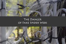 Motion Activated Outdoor Halloween Decorations by It U0027s Halloween The Dangers Of Fake Spider Webs