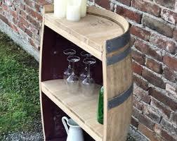 wine barrel shelf etsy