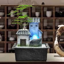 haus form wasser brunnen bonsai handwerk wohnzimmer wasserlandschaft feng shui büro desktop ornamente hause dekoration hochzeit geschenke