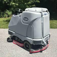 Riding Floor Scrubber Training by Advance Condor 4030c Rider Scrubber Bortek Industries Inc